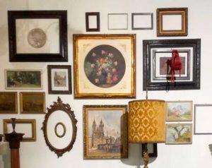 cornici-antiche-parete-vintage