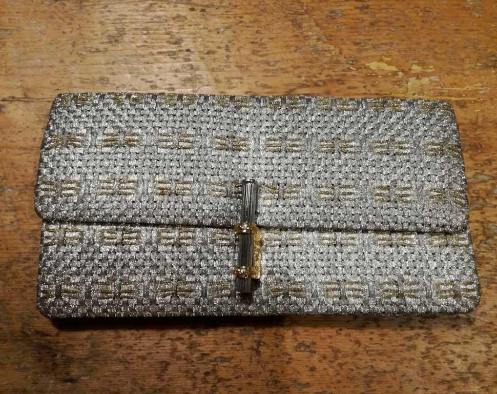 matriarca-borse-accessori-vintage-pochette-argento-silver-handbag