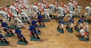 soldatini-stagno-dipinti-a-mano-vintage
