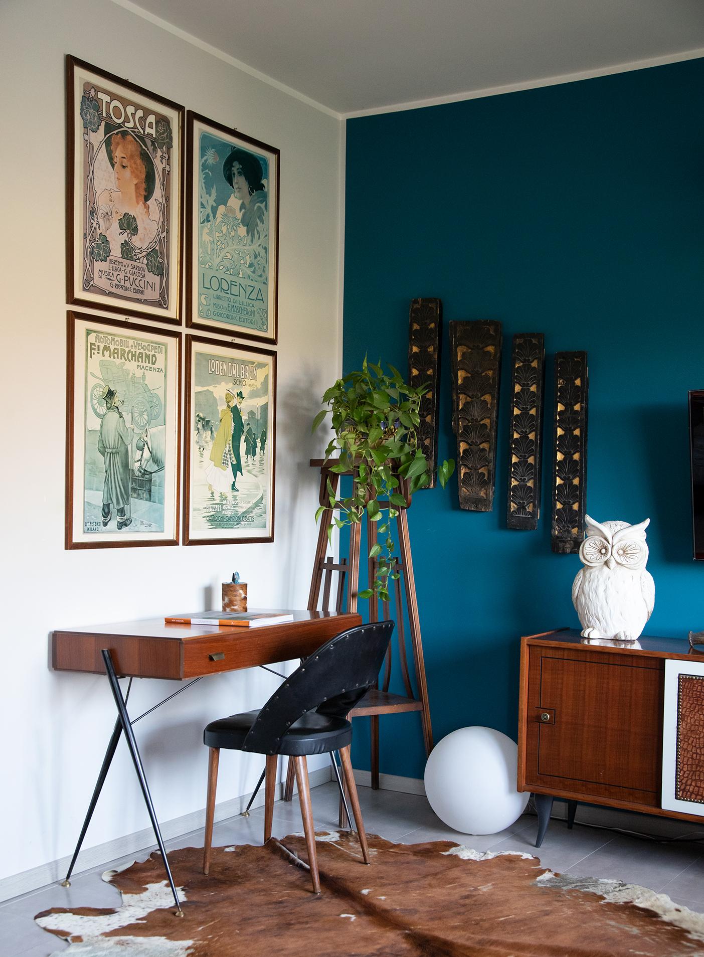 mobili modernariato soggiorno